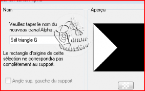 Capturer sur canal alpha