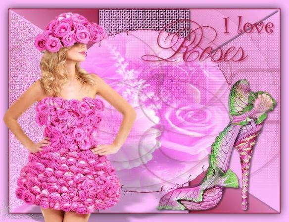Franie i love roses