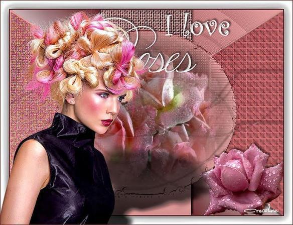 Linette i love roses