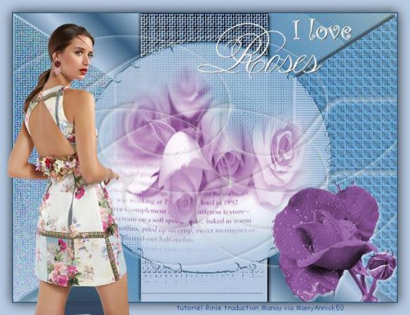 Mamy annick 50 i love roses