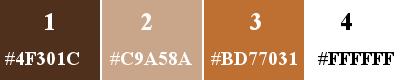 Palette 4 couleurs