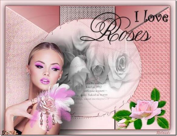 Rolande i love rose