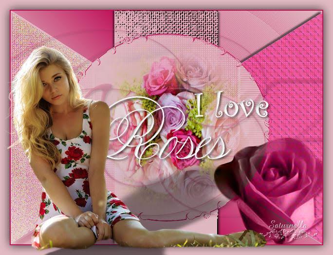Saturnella i love rose