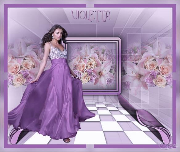 Violeta zenobia